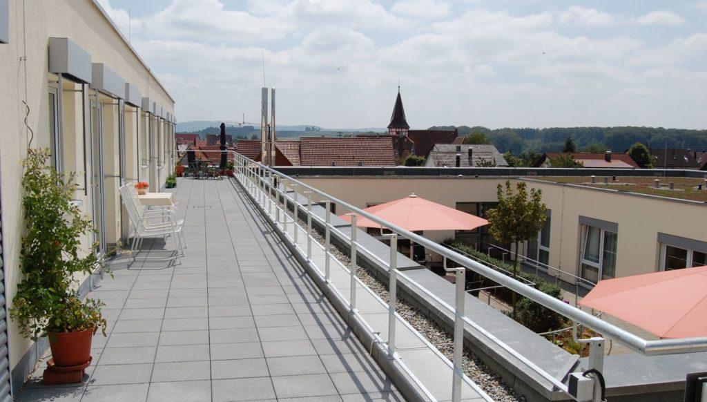 Dachterrasse Haus Elim