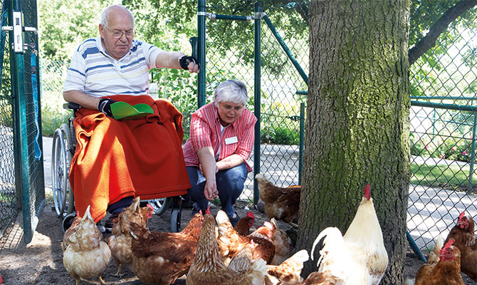 Wohnortnahe Altenpflege im Rems-Murr-Kreis